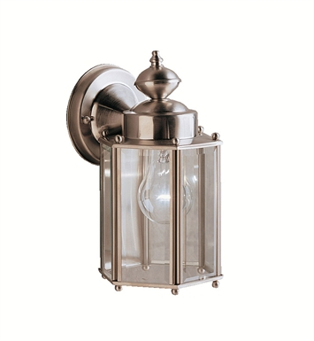 Kichler 9618SS One Light Outdoor Wall Sconce in Stainless Steel