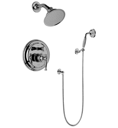 Graff G-7167-LM22S Traditional Pressure Balancing Shower Set with Handshower