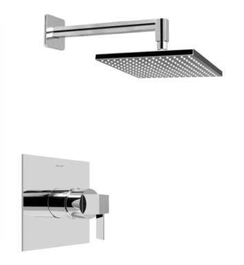 Graff G-7240-LM39S-PN Qubic Tre Contemporary Full Pressure Balancing System Shower With Finish: Polished Nickel And Rough / Valve: Rough