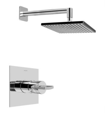 Graff G-7240-C14S-PC Sade/Targa Contemporary Full Pressure Balancing System Shower With Finish: Polished Chrome And Rough / Valve: Trim + Rough