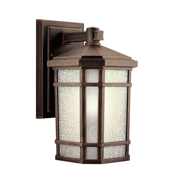 Kichler 9718PR Cameron Collection 1 Light Outdoor Wall Sconce in Prairie Rock