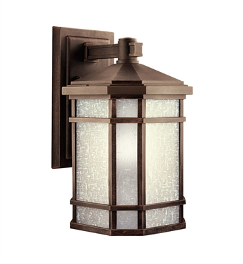 Kichler 9720PR Cameron Collection 1 Light Outdoor Wall Sconce in Prairie Rock