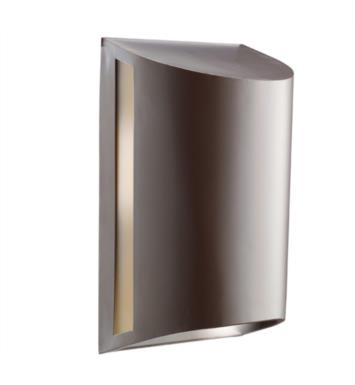"Kichler 9095AZ 1 Light 7"" Incandescent Outdoor Wall Sconce in Architectural Bronze"