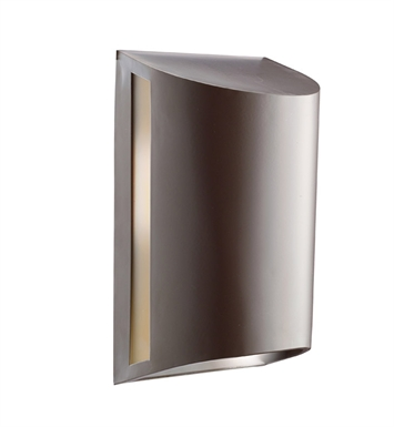 Kichler 9095AZ One Light Outdoor Wall Sconce in Architectural Bronze