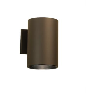 "Kichler 9236AZ 1 Light 6"" Incandescent Indoor/Outdoor Wall Sconce in Architectural Bronze"