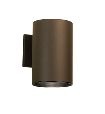 Kichler 9236AZ One Light Outdoor Wall Sconce in Architectural Bronze