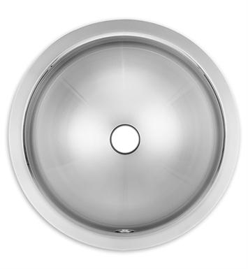 16rd00 prevoir stainless steel small round undermount bathroom sink