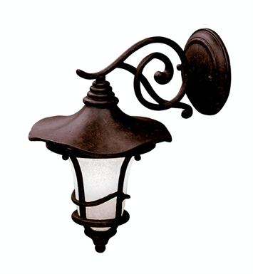Kichler Cotswold Collection 1 Light Outdoor Wall Sconce in Aged Bronze