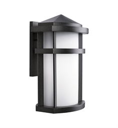 Kichler One Light Outdoor Wall Sconce in Textured Granite