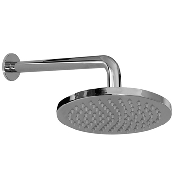 Graff G-8301-PC/BK Contemporary Showerhead with Arm With Finish: Architectural Black w/ Chrome Accents