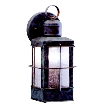 Kichler 9477OB Concord Collection 1 Light Outdoor Wall Sconce in Olde Brick