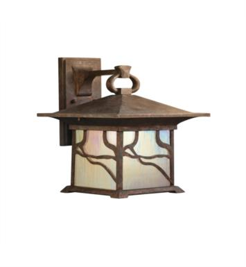 "Kichler 9027DCO Morris 1 Light 12"" Incandescent Outdoor Wall Sconce in Distressed Copper"