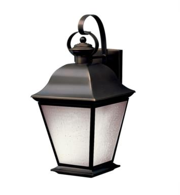 "Kichler 10909OZ Mount Vernon 1 Light 9 1/2"" Compact Fluorescent Outdoor Wall Sconce in Olde Bronze"