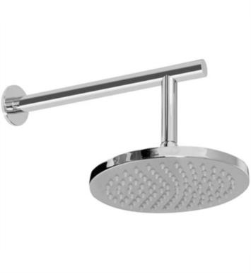 "Graff G-8306-WT 8"" Wall Mount Single-Function Showerhead with Arm With Finish: Architectural White"