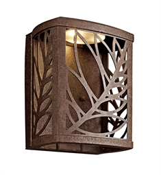 Kichler Takil Collection Outdoor Wall Sconce in Aged Bronze