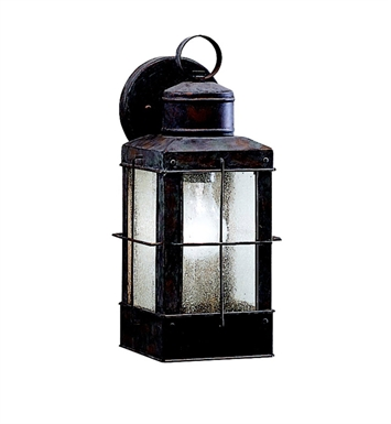 Kichler 9478OB Concord Collection 1 Light Outdoor Wall Sconce in Olde Brick