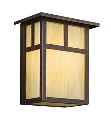 Kichler 9147CV Alameda Collection 1 Light Outdoor Wall Sconce in Bronze