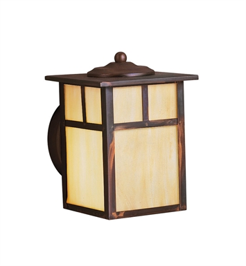 Kichler 9649CV Alameda Collection 1 Light Outdoor Wall Sconce in Bronze