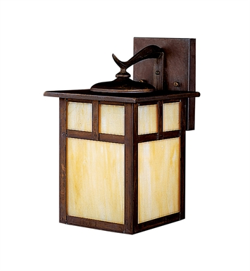 Kichler 10961CV Alameda Collection 1 Light Outdoor Wall Sconce in Brown