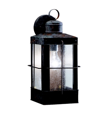 Kichler 9479OB Concord Collection 1 Light Outdoor Wall Sconce in Olde Brick