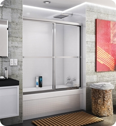 Fleurco FMT1260 Signature Catalina Sliding Tub Enclosure