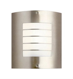 Kichler One Light Outdoor Wall Sconce in Brushed Nickel