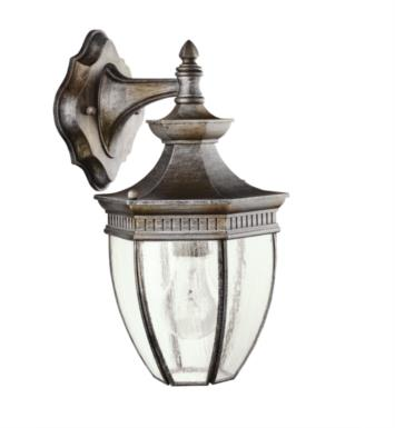 "Kichler 9368TZ Warrington 1 Light 7 1/4"" Incandescent Outdoor Wall Sconce in Tannery Bronze"
