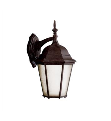"Kichler 10954TZ Madison 1 Light 9 1/4"" Compact Fluorescent Outdoor Wall Sconce in Tannery Bronze"