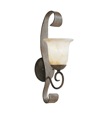 Kichler 9273OI High Country Collection 1 Light Outdoor Wall Sconce in Old Iron