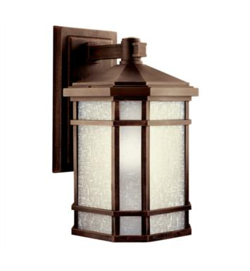 "Kichler 11019PR Cameron 1 Light 10"" Compact Fluorescent Outdoor Wall Sconce in Prairie Rock"