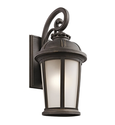 Kichler Ralston Collection 1 Light Outdoor Wall Sconce in Rubbed Bronze