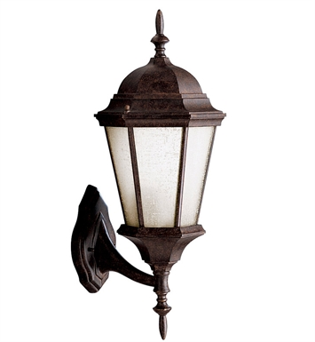 Kichler 10955TZ One Light Outdoor Wall Sconce in Tannery Bronze