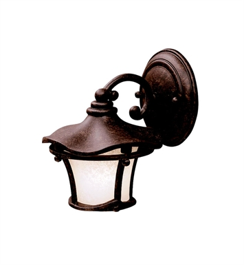 Kichler 9351AGZ Cotswold Collection 1 Light Outdoor Wall Sconce in Aged Bronze
