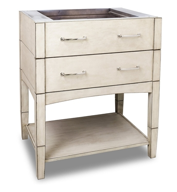 Hardware Resources VAN086 Traditional Bathroom Vanity by Jeffrey Alexander