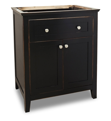 Hardware Resources VAN093-30 Traditional Bathroom Vanity by Jeffrey Alexander