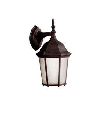 "Kichler 10950TZ Madison 1 Light 14 3/4"" Compact Fluorescent Outdoor Wall Sconce in Tannery Bronze"