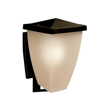 Kichler 9430OZ Benton Collection 1 Light Outdoor Wall Sconce in Olde Bronze