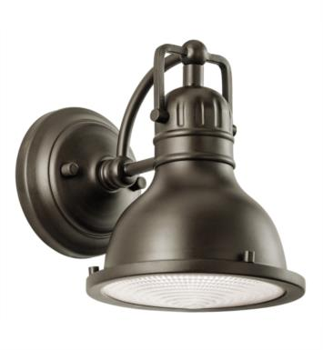 "Kichler 49064OZ Hatteras Bay 1 Light 6 1/2"" Incandescent Outdoor Wall Sconce in Olde Bronze"