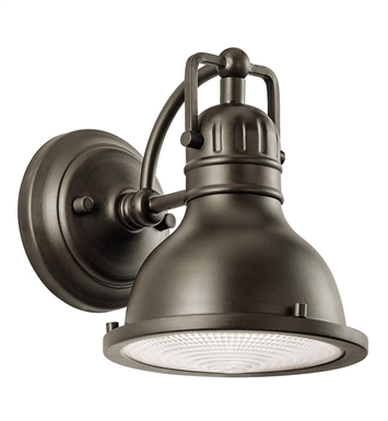 Kichler 49064OZ One Light Outdoor Wall Sconce in Olde Bronze