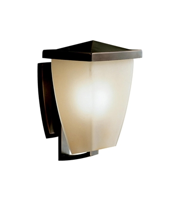 Kichler 9429OZ Benton Collection 1 Light Outdoor Wall Sconce in Olde Bronze