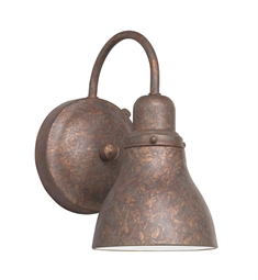 Kichler One Light Outdoor Wall Sconce in Distressed Copper