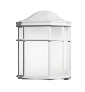 Kichler 10941WH One Light Outdoor Wall Sconce in White