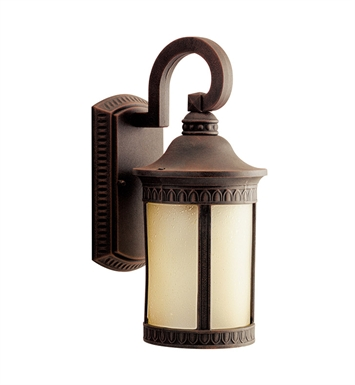 Kichler 10903PR Randolph Collection 1 Light Outdoor Wall Sconce in Prairie Rock