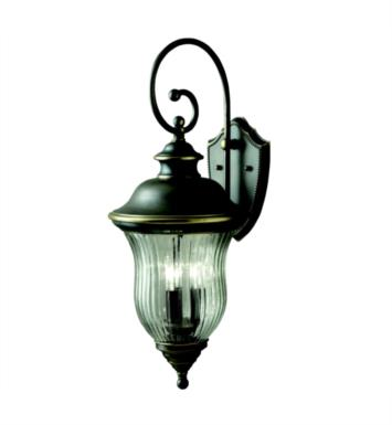 "Kichler 9492OZ Sausalito 3 Light 11 1/4"" Incandescent Outdoor Wall Sconce in Olde Bronze"