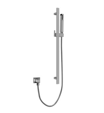 "Graff G-8670-PC 27 3/4"" Contemporary Wall Mount Slide Bar with Handshower With Finish: Polished Chrome"