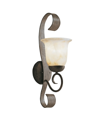 Kichler 9274OI High Country Collection 1 Light Outdoor Wall Sconce in Old Iron