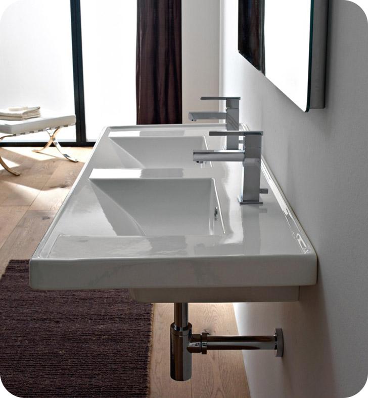 Nameeks 3006 Scarabeo Bathroom Sink
