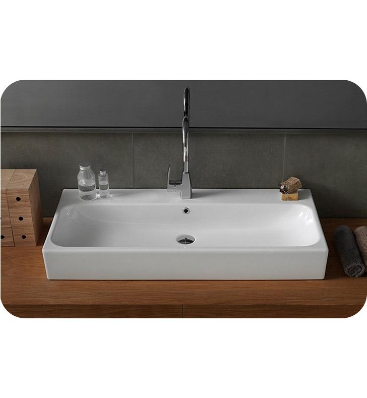 Nameeks 080300 u cerastyle bathroom sink for Nameeks bathroom sinks