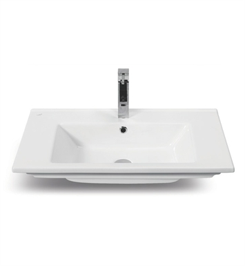 Nameeks 067500-U CeraStyle Bathroom Sink