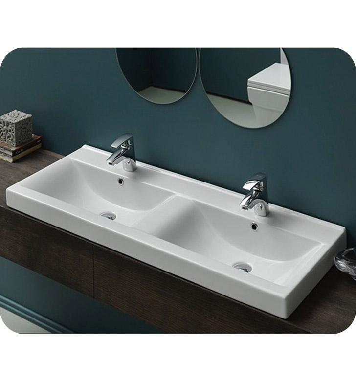 Nameeks 064700 u cerastyle bathroom sink for Nameeks bathroom sinks